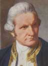 Painting of Captain Cook