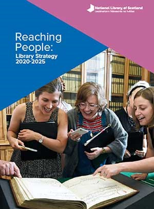 Library strategy 2020-2025 cover