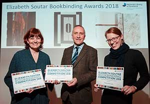 2018 bookbinding winners